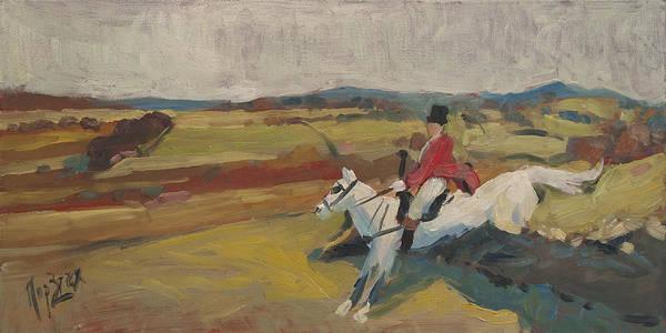 Hedge Hopping Britain Art Print