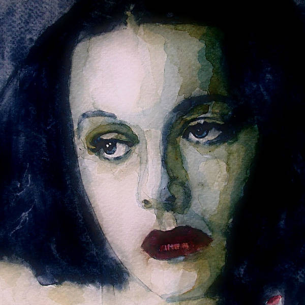 Actress Wall Art - Painting - Hedy Lamarr by Paul Lovering