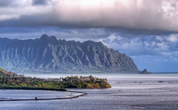 Photograph - He'eia Park And Fish Pond by Dan McManus