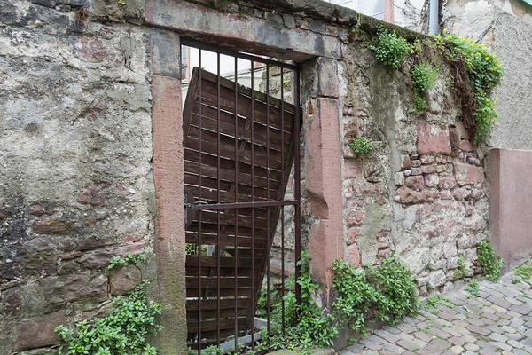 Wall Art - Photograph - Heidelberg Alley Gate by Teresa Mucha