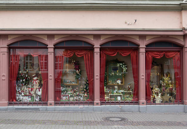 Wall Art - Photograph - Heidelberg Christmas Shop by Teresa Mucha