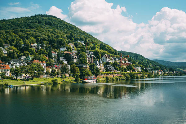 Wall Art - Photograph - Heidelberg Hill Landscape View by Pati Photography