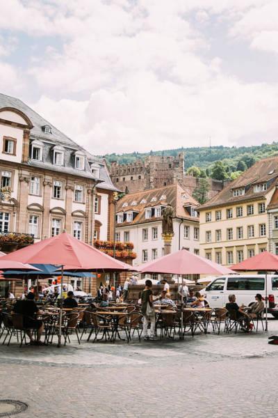 Wall Art - Photograph - Heidelberg Marktplatz by Pati Photography