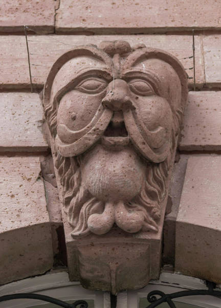 Wall Art - Photograph - Heidelberg Rathaus Face by Teresa Mucha