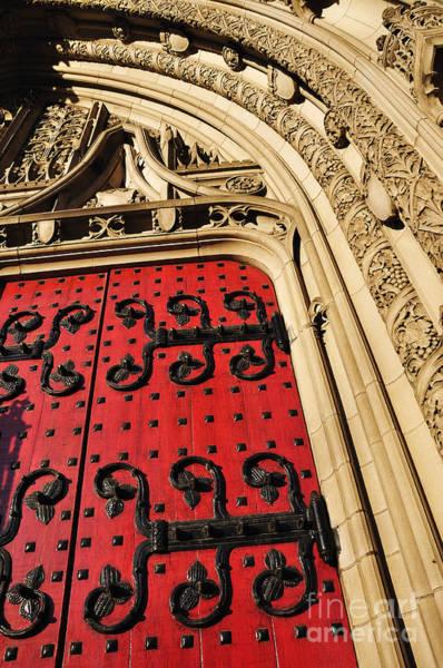 Photograph - Heinz Chapel Doors by Thomas R Fletcher