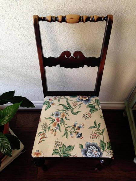 Photograph - Heirloom Chair by Connie Fox