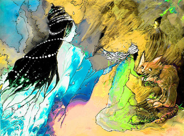 Painting - Helen Losse by Miki De Goodaboom