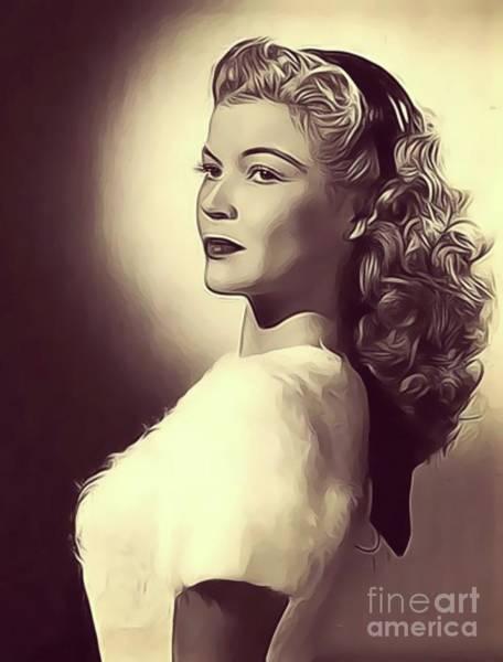 Wall Art - Digital Art - Helen Talbot, Vintage Actress by John Springfield