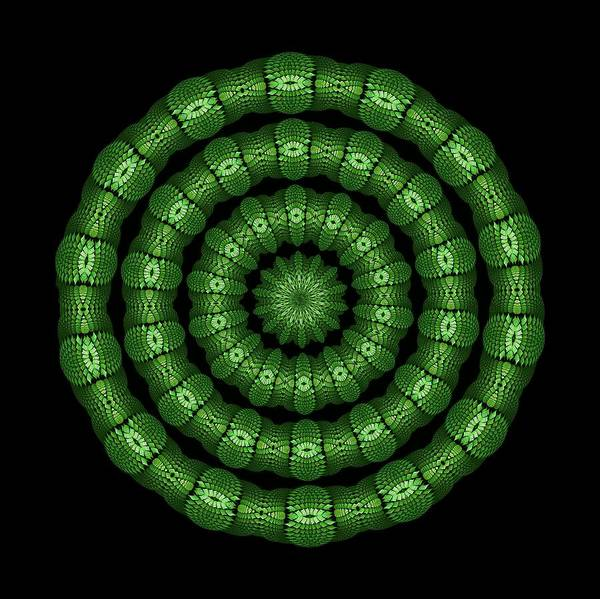 Digital Art - Helenite Healing Rings by Doug Morgan