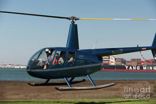 Photograph - Helicopter Tours Of Charleston by Dale Powell