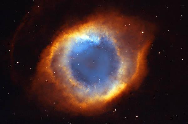 Deep Space Photograph - Helix Nebula by Ricky Barnard