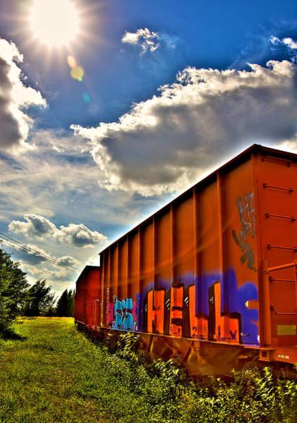 Wall Art - Photograph - Hell Train by William Wetmore