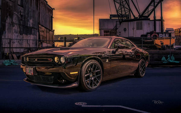 Photograph - Dodge Challenger Fun by Bill Posner
