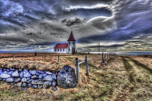 Photograph - Hellnar Church by Matt Swinden