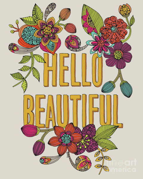 Wall Art - Photograph - Hello Beautiful by MGL Meiklejohn Graphics Licensing