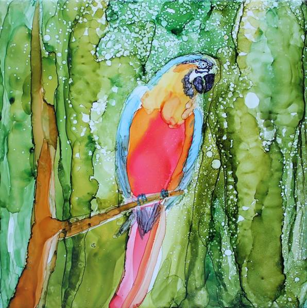 Painting - Hello Hello by Ruth Kamenev
