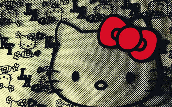 Hello Kitty Wall Art - Digital Art - Hello Kitty - 708 by Jovemini ART