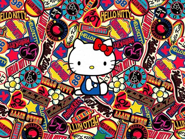 Hello Kitty Wall Art - Digital Art - Hello Kitty by Lissa Barone