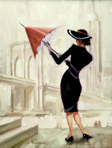 Classy Wall Art - Painting - Hello New York by Steve Henderson