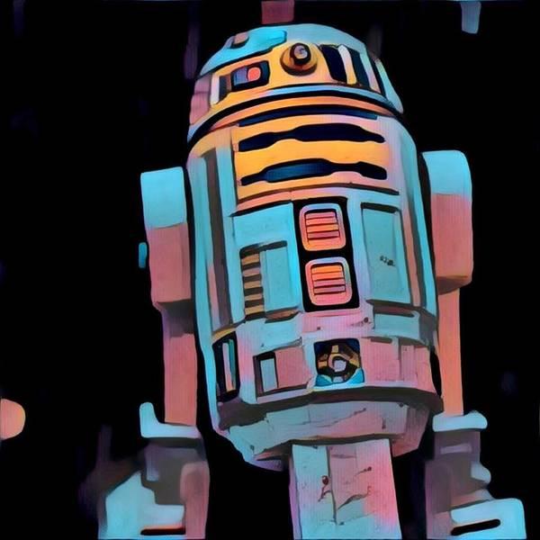 Galactic Empire Photograph - Hello R2d2 by Modern Art