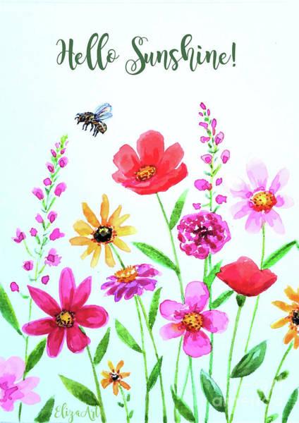 Painting - Hello Sunshine by Elizabeth Robinette Tyndall