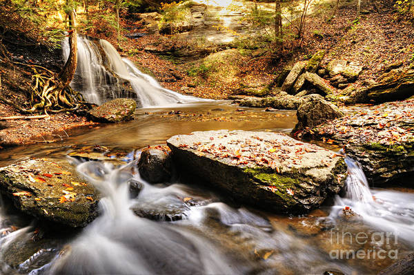 Photograph - Hells Hollow Falls by Larry Ricker