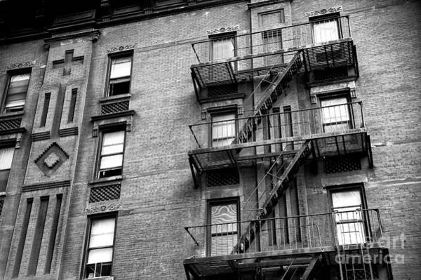 Photograph - Hell's Kitchen Fire Escape by John Rizzuto