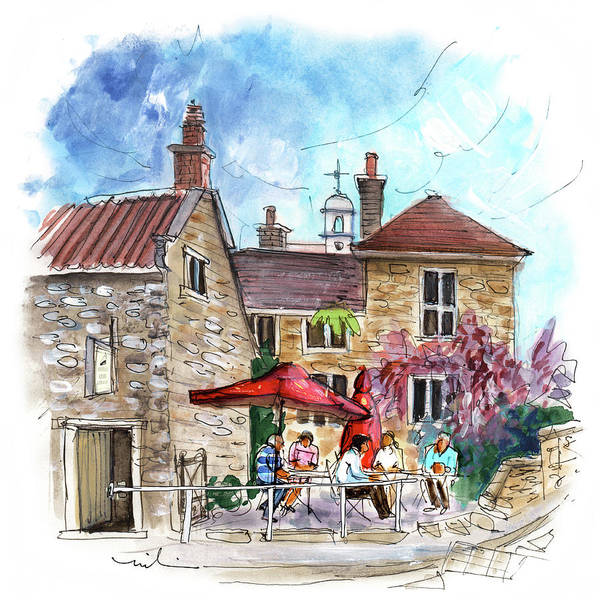 Painting - Helmsley Cafe 02 by Miki De Goodaboom