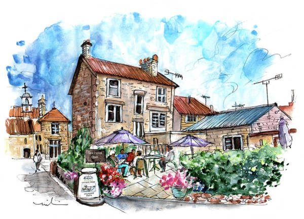 Painting - Helmsley Tearoom by Miki De Goodaboom