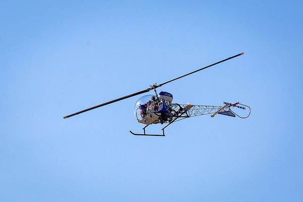 Photograph - Helo Rides by Jack R Perry