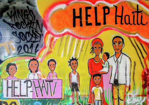 Photograph - Help Haiti by Mike Dunn