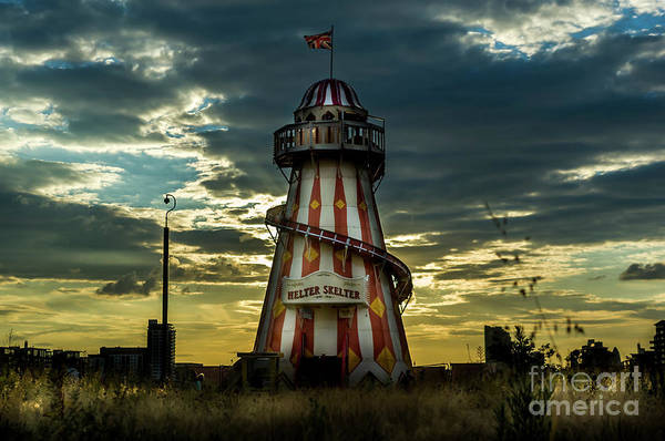 Photograph - Helter Skelter by Paul Warburton