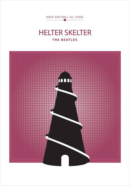 Digital Art - Helter Skelter -- The Beatles by David Davies