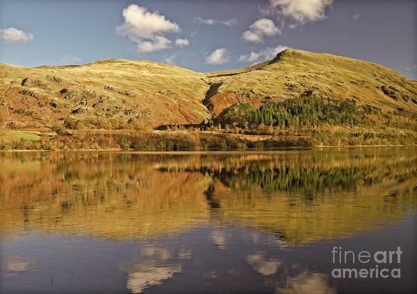 Photograph - Helvellyn Mountain Reflections by Martyn Arnold