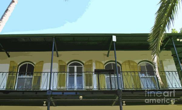 Photograph - Hemingway Balcony by Jost Houk