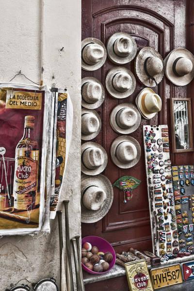 Photograph - Hemingway Hats by Sharon Popek