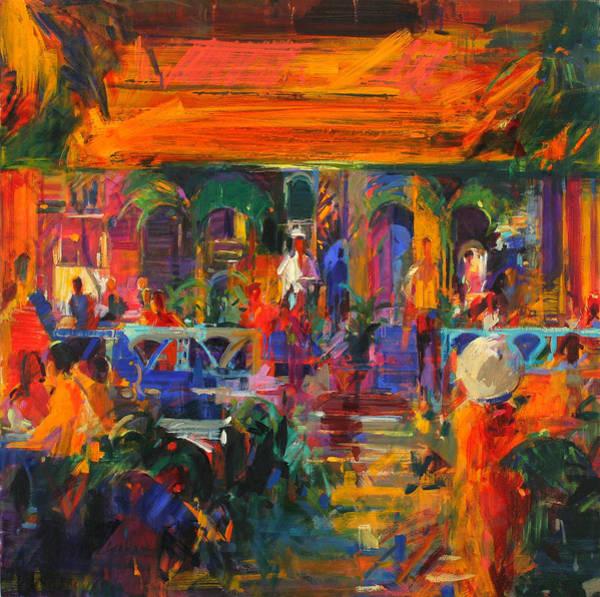 Jardin Painting - Hemingway Summer by Peter Graham