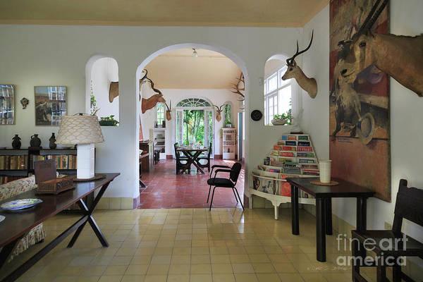 Photograph - Hemingways' Cuba House Entrance No. 10 by Craig J Satterlee