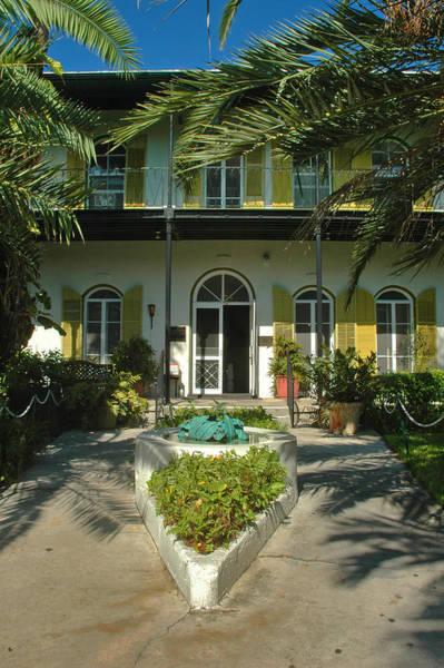 Hemingways House Key West Art Print