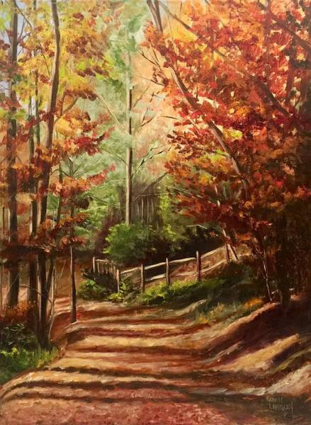 Wall Art - Painting - Hemlock Holler by Karen Langley