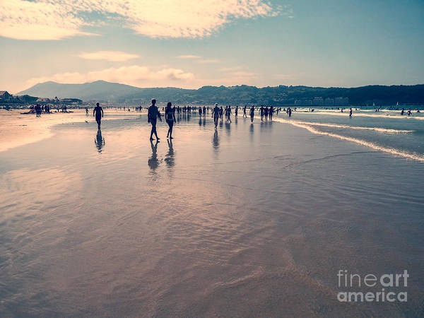 Instagram Photograph - Hendaye Beach by Delphimages Photo Creations