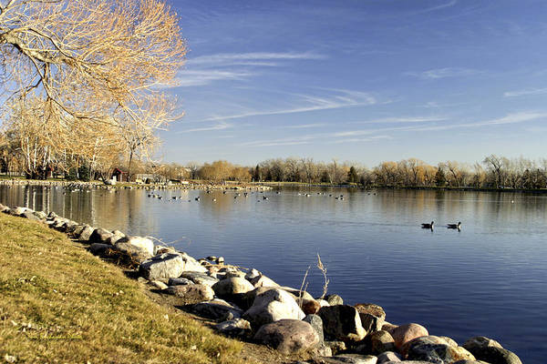 Wall Art - Photograph - Henderson Lake Waiting For Winter by Tom Buchanan