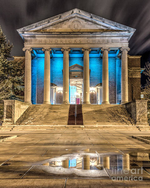 Photograph - Hendricks Chapel by Rod Best