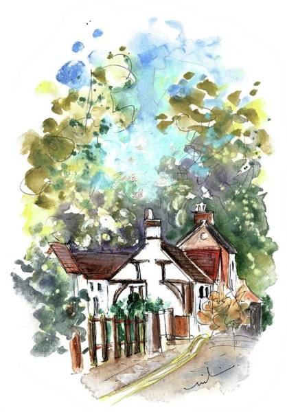 Painting - Henley-in-arden 02 by Miki De Goodaboom