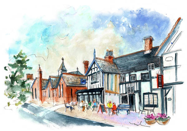 Painting - Henley-in-arden 03 by Miki De Goodaboom