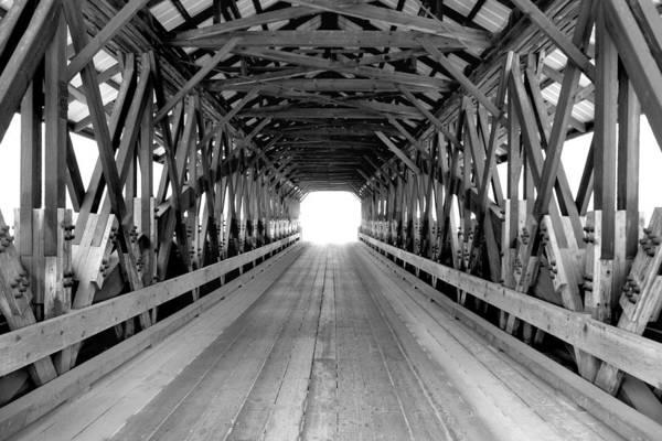 Henniker Photograph - Henniker Covered Bridge by Greg Fortier