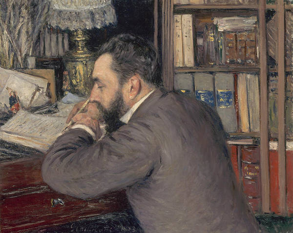 Painting - Henri Cordier by Gustave Caillebotte