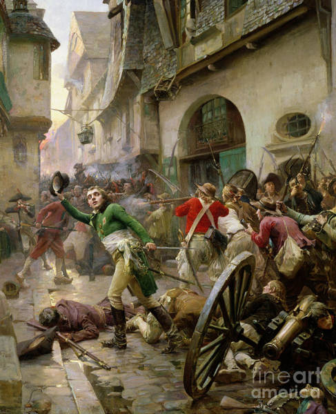 Wall Art - Painting - Henri De La Rochejaquelein At The Battle Of Cholet by Paul Emile Boutigny