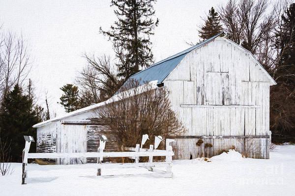 Photograph - Henrickson Barn by Lori Dobbs