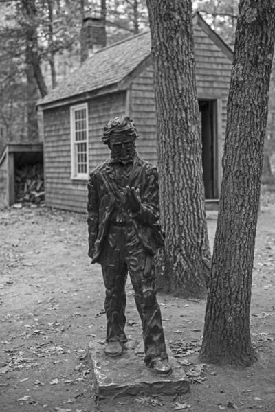Photograph - Henry David Thoreau House Walden Pond Concord Ma by Toby McGuire